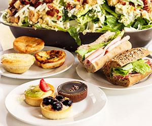Gourmet lunch platter thumbnail
