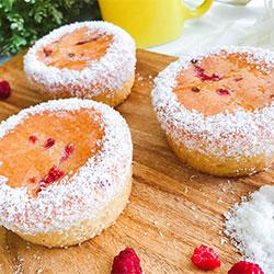 Flourless coconut raspberry - 3 inch - box of 6 thumbnail