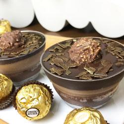 Ferrero nutella cheesecake - 3 inch - box of 6 thumbnail