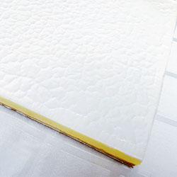Mango coconut cheesecake - cold set slab cake thumbnail