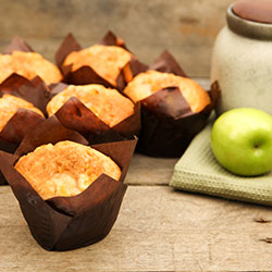 Apple and cinnamon gourmet muffin - box of 6 thumbnail