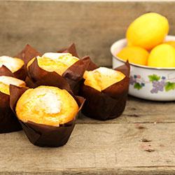 Lemon gourmet muffin - box of 6 thumbnail