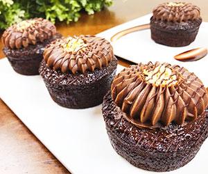 Salted hazelnut chocolate mud - 3 inch - box of 6 thumbnail