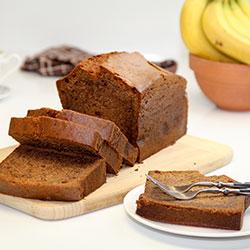 Classic banana bread loaf thumbnail