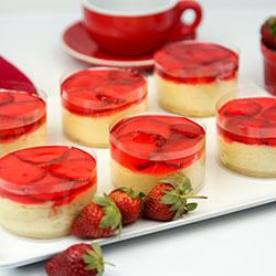 Strawberry cheesecake - 3 inch - box of 6 thumbnail