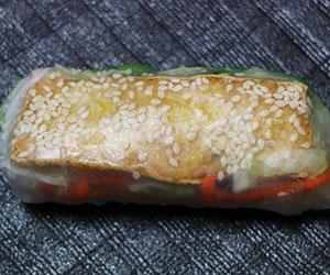 Tofu rice paper roll thumbnail