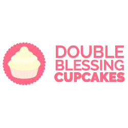 Double Blessing Cupcakes logo