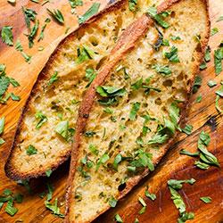 Garlic ciabatta bread thumbnail