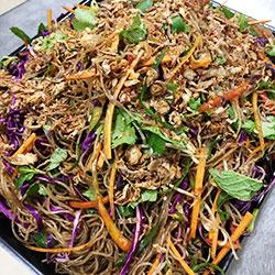 Noodle salad - serves 10 thumbnail