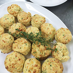 Cheese and chive scones  thumbnail