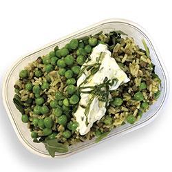 Brown rice, pea and lentils salad thumbnail
