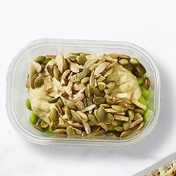 Hummus and edamame mini salad thumbnail