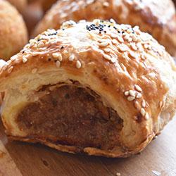 Homemade sausage roll - mini thumbnail