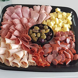 Cold meat and cheese platter thumbnail