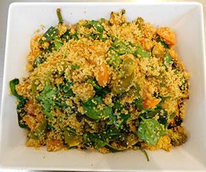 Quinoa veggie salad thumbnail
