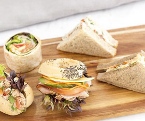 Sandwich and mini roll platter thumbnail