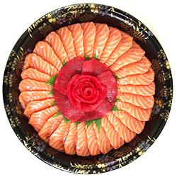 Rose sashimi platter thumbnail