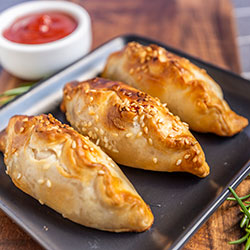 Vegetarian pasties - mini thumbnail