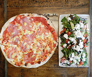 Pizza and salad package thumbnail