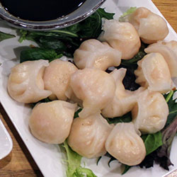 Handmade Asian dumplings thumbnail