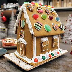 Handmade gingerbread house thumbnail