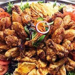 BBQ chicken platter thumbnail