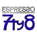 Espresso 7ty8 logo