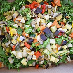 Roast vege salad thumbnail