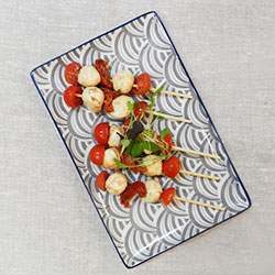 Tomato and bocconcini skewers thumbnail