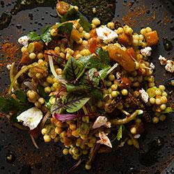 Moroccan pumpkin salad thumbnail
