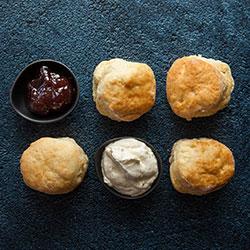 Petite buttermilk scones thumbnail