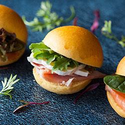 Petite rolls with premium fillings thumbnail