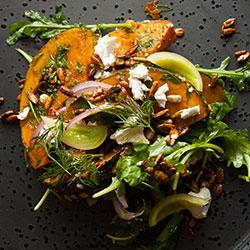 Roast pumpkin and feta salad thumbnail