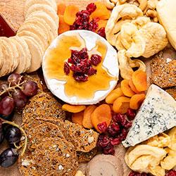 Gourmet cheese platter thumbnail