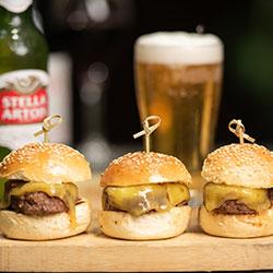 Mini burgers thumbnail