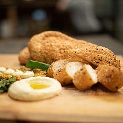 Turkish bread and dips thumbnail
