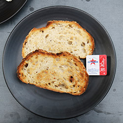 Toasts with spread thumbnail