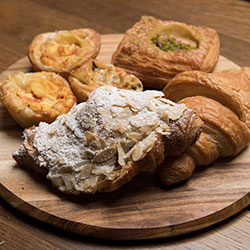 Muffins, Danish, croissants and quiches thumbnail