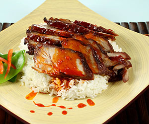 Chinese BBQ pork lunch box thumbnail