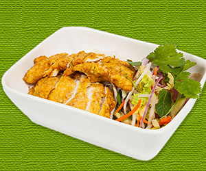 Saigon lemongrass chicken lunch box thumbnail