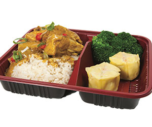 Penang chicken curry bento box thumbnail