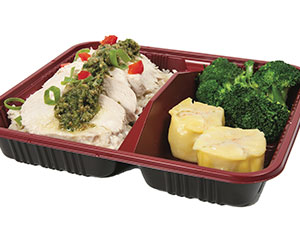 Steamed chicken bento box thumbnail