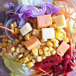 Seasonal sweet corn salad thumbnail