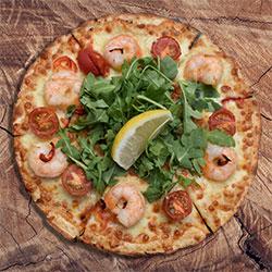 Gamberi pizza thumbnail