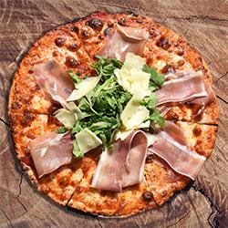 Prosciutto pizza thumbnail