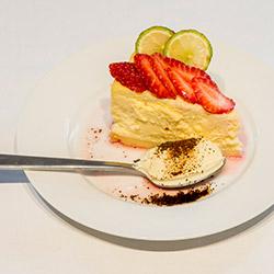 Lemon myrtle cheesecake slice thumbnail