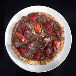 Nutella pizza thumbnail