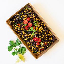 Antioxidant rich black bean salad thumbnail