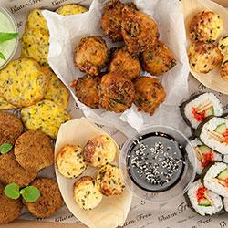 Gluten free and vegetarian grazer platter thumbnail