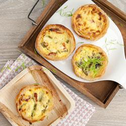 Mini assorted breakfast quiche thumbnail